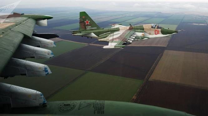 Cường kích Su-25 mới của Nga được nâng cấp trở nên mạnh hơn nhiều