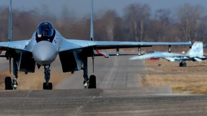 Tiêm kích Su-35S của Nga tham chiến tại Syria