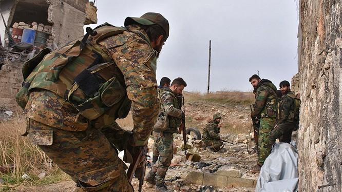 Chiến trường Syria vẫn hết sức ác liệt