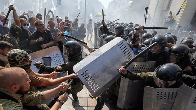 Bạo loạn trong phong trào Maidan lật đổ chính quyền Ukraine năm 2014