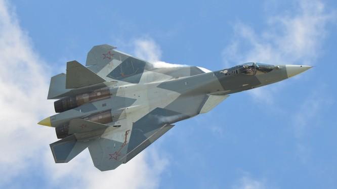 Tiêm kích tàng hình Su-57 Nga