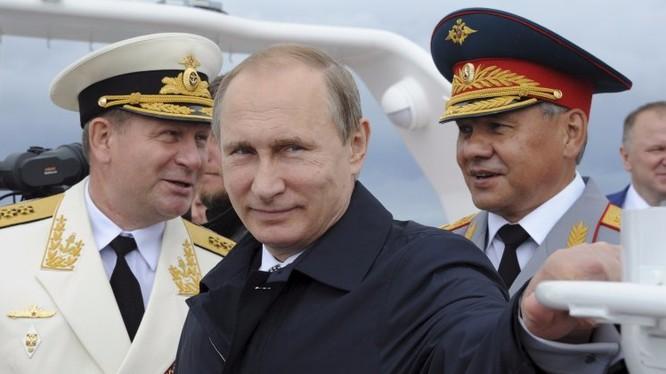 Tổng thống Putin luôn có những nước cờ táo bạo và bất ngờ