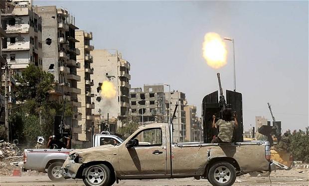 Chiến sự vẫn diễn ra ác liệt trên nhiều mặt trận ở Syria