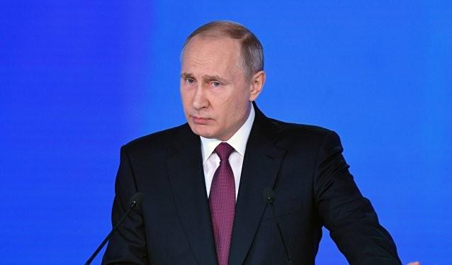 Ông Putin ngày 1/3/2018