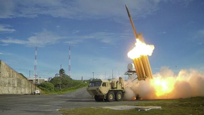 Hệ thống phòng thủ tên lửa THAAD của Mỹ