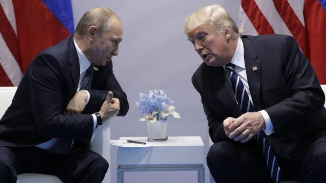 Hai ông Putin và Trump