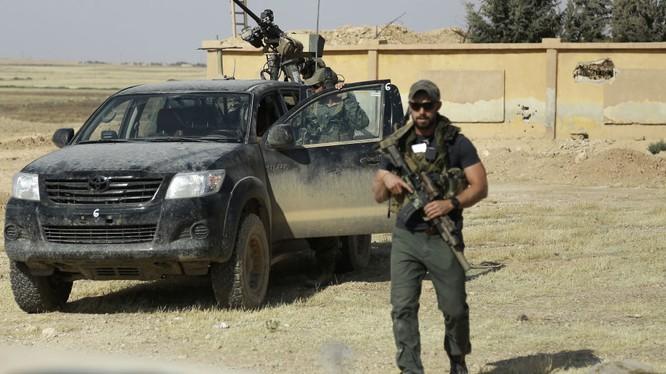 Lính đặc nhiệm Mỹ có mặt tại chiến trường Syria
