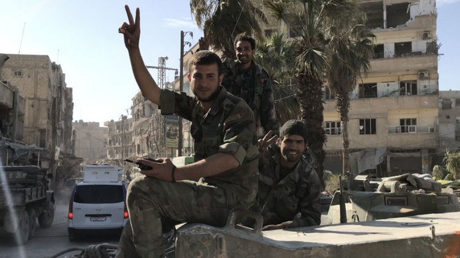 Quân đội Syria sắp giải phóng hoàn toàn sào huyệt thánh chiến Đông Ghouta