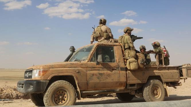 Lính Mỹ hiện diện tại chiến trường Syria