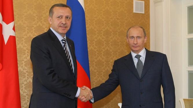 Ông Putin thăm Thổ Nhĩ Kỳ vào đầu tháng 4 này