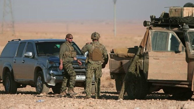 Lính Mỹ trên chiến trường Syria