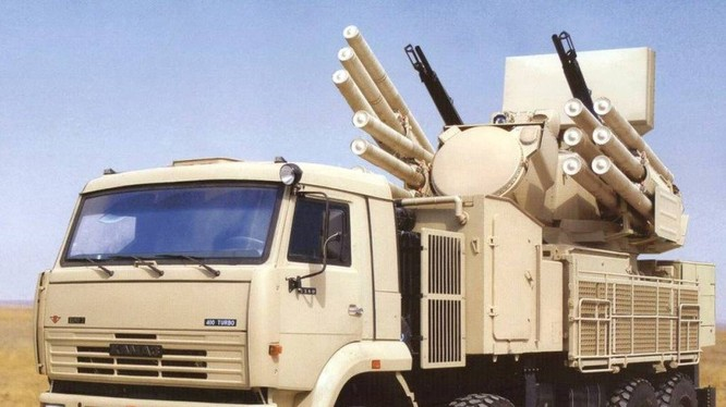 Hệ thống Pantshir-S1 của Nga