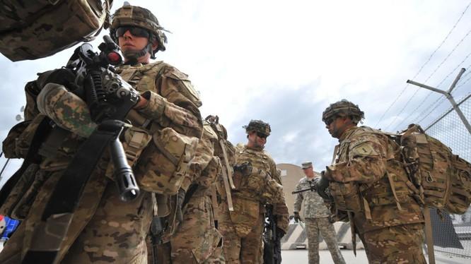 Quân đội Mỹ vẫn đang hiện diện trên chiến trường Syria