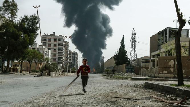 Đất nước Syria tan hoang sau hơn 7 năm chiến tranh đẫm máu