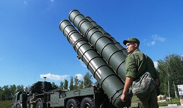 Nga đã triển khai một số hệ thống tên lửa S-400 tại chiến trường Syria