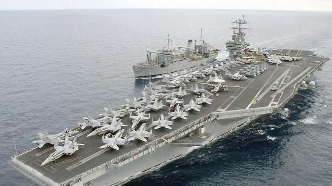 Tàu sân bay Mỹ USS Harry Truman mang theo 90 chiến đấu cơ đang tới vùng biển gần Syria