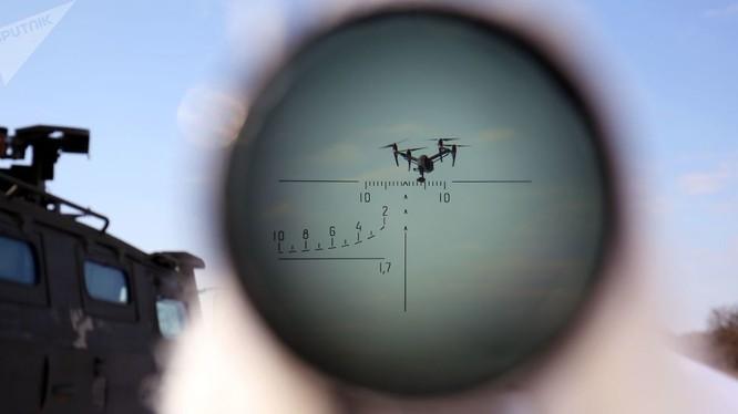 Nga sắp có bảo bôi trị chiến thuật bầy UAV