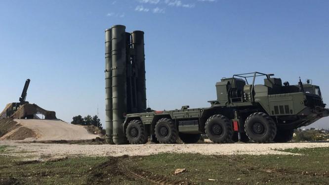 Tên lửa S-400 Nga tại Syria
