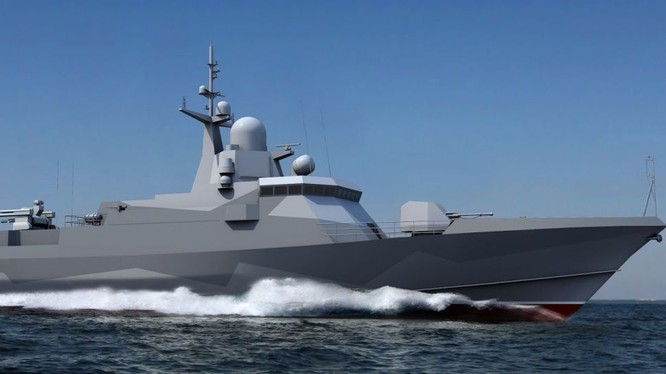 Chiến hạm đề án 22800 Shkval được cho là trang bị tên lửa hành trình Kalibr