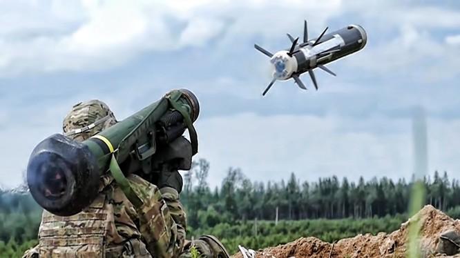Tên lửa chống tăng Javenlin của Mỹ