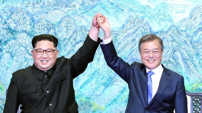 Mối quan hệ liên Triều đang ấm lên nhanh chóng khiến thế giới bất ngờ