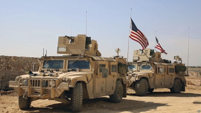 Lính Mỹ hiện diện trên chiến trường Syria