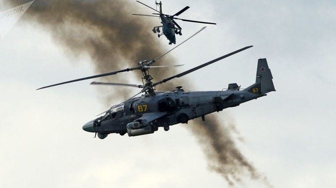Trực thăng tấn công Ka-52 Nga
