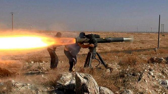 Tên lửa TOW của Mỹ thường xuyên được sử dụng trên chiến trường Syria
