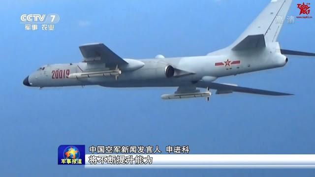 Trung Quốc vừa cho máy bay ném bom H-6K diễn tập cất hạ cánh tại quần đảo Hoàng Sa khiến nhiều nước lên tiếng phản đối