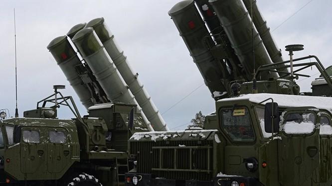 Nga đã triển khai S-400 tới bán đảo Crimea