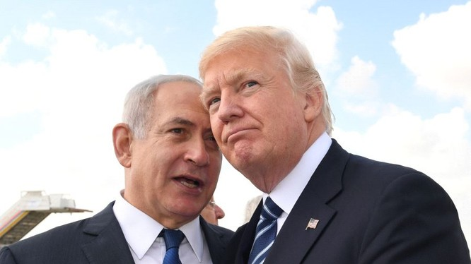 Tổng thống Mỹ Donald Trump và Thủ tướng Israel Netanyahu