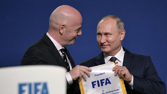 Tổng thống Putin đang có cơ hội lớn để thể hiện quyền lực mềm của nước Nga trong mùa hè 2018