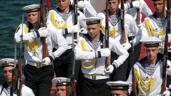 Lính hải quân Nga tại Crimea