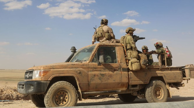 Lính Mỹ hiện diện trên lãnh thổ Syria
