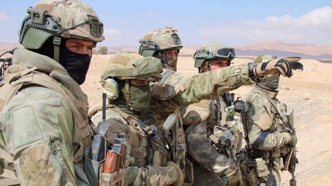Đặc nhiệm Nga tác chiến trên chiến trường Syria