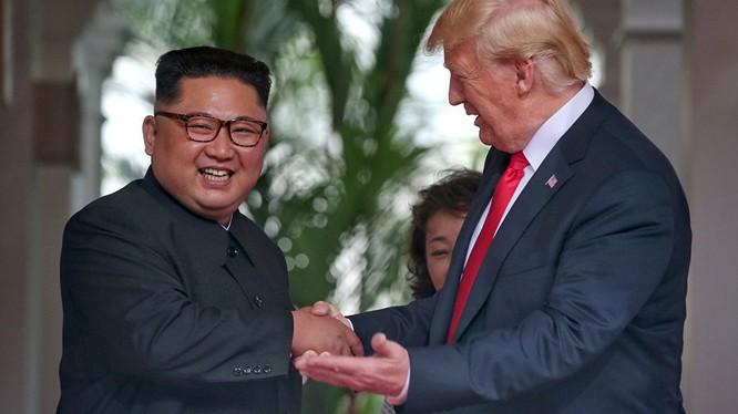 Lãnh đạo Triều Tiên và Mỹ có cuộc gặp thượng đỉnh lịch sử tại Singapore