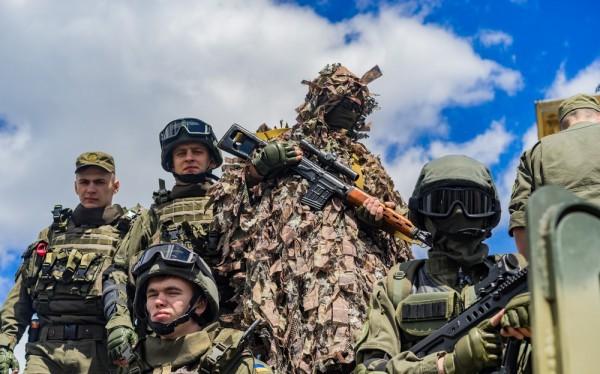 Binh sĩ Ukraine ở mặt trận miền đông