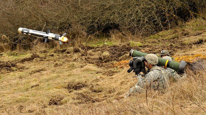Mỹ đã cung cấp các tên lửa chống tăng Javenlin cho Ukraine