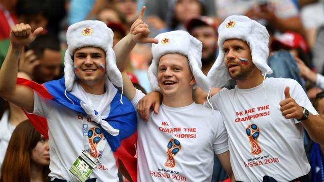 Nga đã có một kỳ World Cup thành công rực rỡ