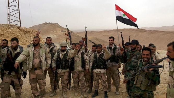 Quân đội Syria liên tiếp giành chiến thắng thời gian gần đây