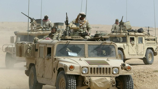 Binh sĩ Mỹ hiện diện trên chiến trường Syria