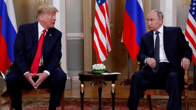 Tổng thống Putin gặp người đồng cấp Donald Trump tại Helsinki ngày 16/7