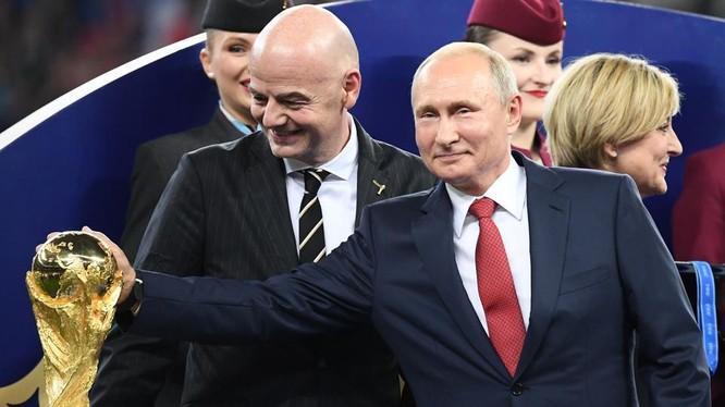 Nước Nga đã thành công mỹ mãn với World Cup 2018