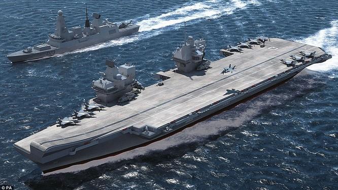Tàu sân bay Anh HMS Queen Elizabeth