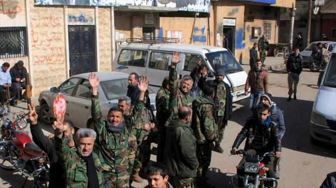 Quân đội Syria liên tiếp giành thắng lợi trong thời gian gần đây