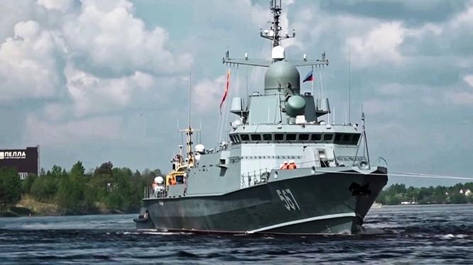 Chiến hạm dự án 22800 của hải quân Nga