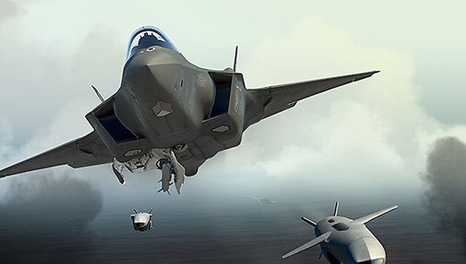 Tiên kích tàng hình F-35 do Lockheed Martin phát triển cho quân đội Mỹ.