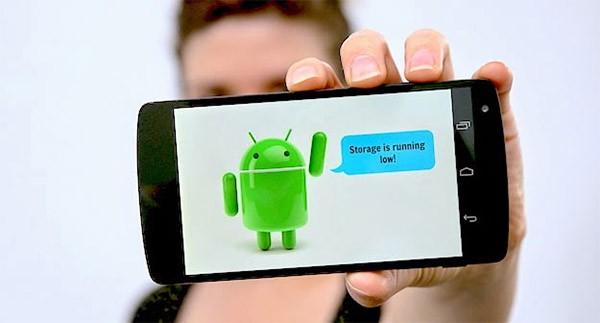 5 việc đầu tiên cần làm khi smartphone Android đầy bộ nhớ