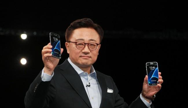Giám đốc mảng di động Koh Dong-jin của Samsung