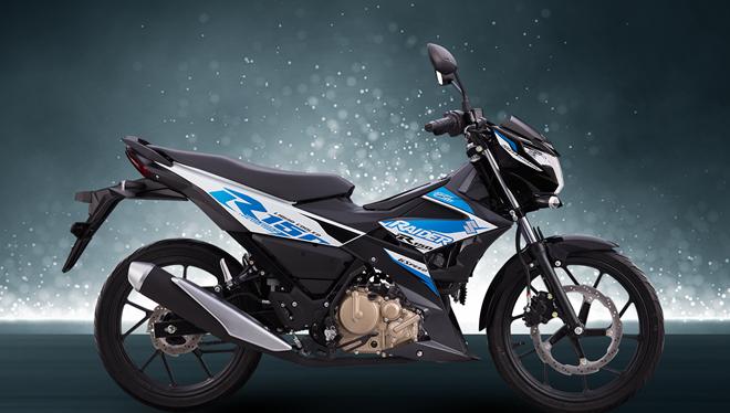 Suzuki Raider R150 Fi có kiểu dáng năng động, thể thao.